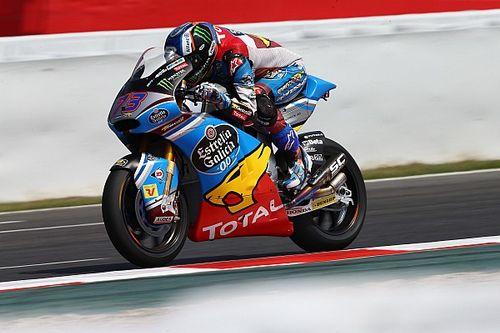 Warm-up GP Catalonië: Marquez voor Schrotter en Morbidelli