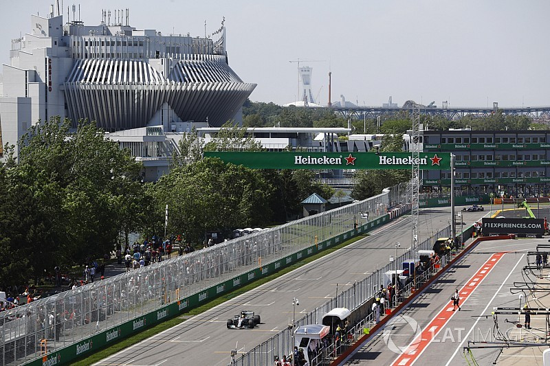 FIA добавила третью зону DRS в Канаде