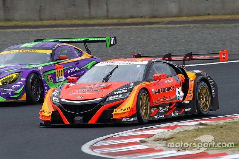 Okayama Super GT: ARTA upsets Lexus teams to take pole
