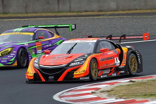 Okayama Super GT: ARTA upsets Lexus teams to take pole