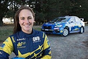 Ausztrál pilótanő vezeti a Subarut a hazai TCR-szezonban