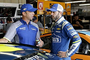 NASCAR Cup Breaking news Jimmie Johnson's takeaways from Chicagoland NASCAR test