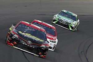 Erik Jones just misses out on first win with third-place at Michigan