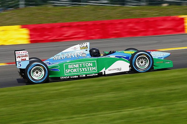 Mick Schumacher confirmed for Benetton F1 demo at Spa