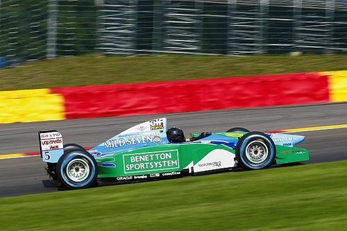 GALERÍA: Mick Schumacher prueba el Benetton B194 en Spa