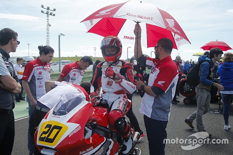 Dimas akui kesulitan saat balapan CEV Moto2