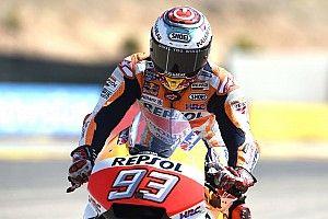 MotoGP Aragon: Marquez pimpin warm-up, Rossi kesembilan