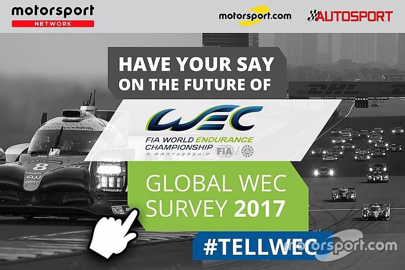 A WEC is elindította globális felmérést a Motorsport.com-on!