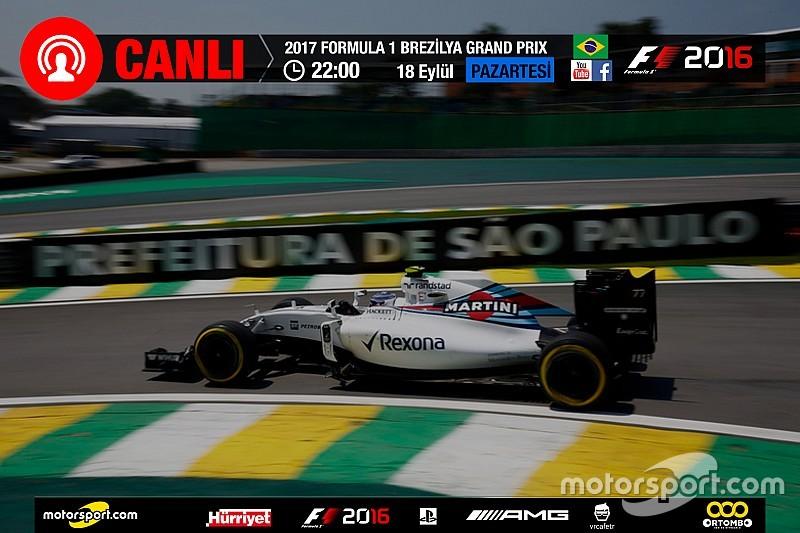 2017 Brezilya GP Sanal Turnuva: Canlı Yayın