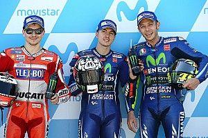 """Lorenzo: """"Rossi es más constante, pero si Viñales está en forma acaba delante"""""""