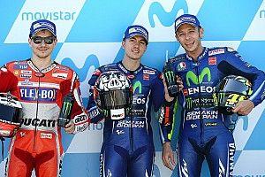 Starting grid MotoGP Aragon 2017