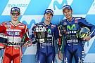 MotoGP GALERIA: Viñales é pole e Rossí é herói; O sábado em Aragón