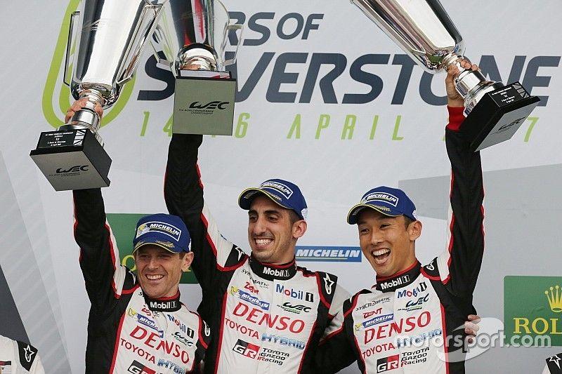 Silverstone WEC: Toyota beats Porsche to win hectic opener