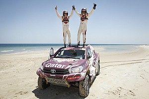 Al Attiyah y Sunderland se imponen en Qatar