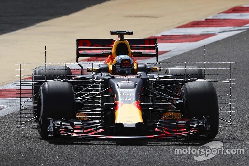 Ricciardo voert tijdenlijst aan op ochtend eerste testdag Bahrein