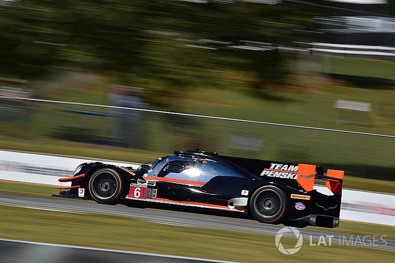 Petit Le Mans: Castroneves grabs pole on Penske's IMSA return