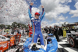 IndyCar Race report Road America IndyCar: Dixon holds off Penskes for first win of 2017