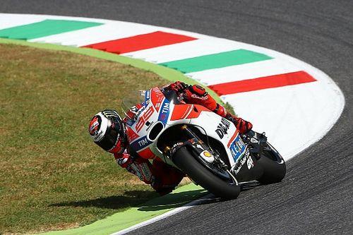 Lorenzo denkt meer aan verkleinen achterstand dan het podium