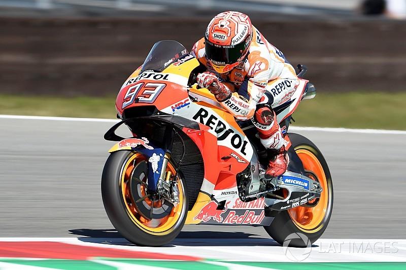 MotoGP Assen: Marquez, 0.001 saniye farkla lider