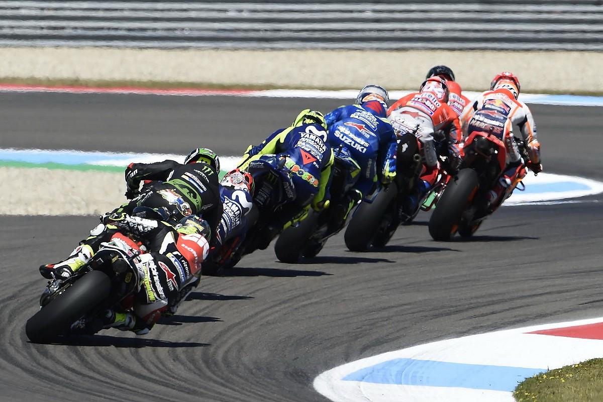 Fotogallery: la strepitosa battaglia del GP d'Olanda di MotoGP ad Assen