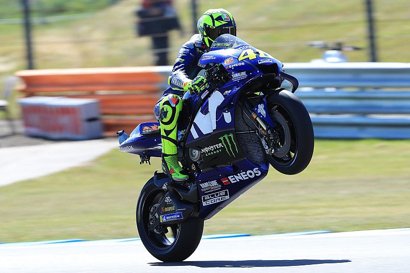 """Rossi: """"El más rápido es Márquez, después Viñales y luego, yo y Dovi"""""""