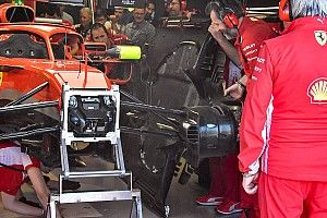 Tecnica Ferrari: ecco le importanti modifiche al fondo della SF71H