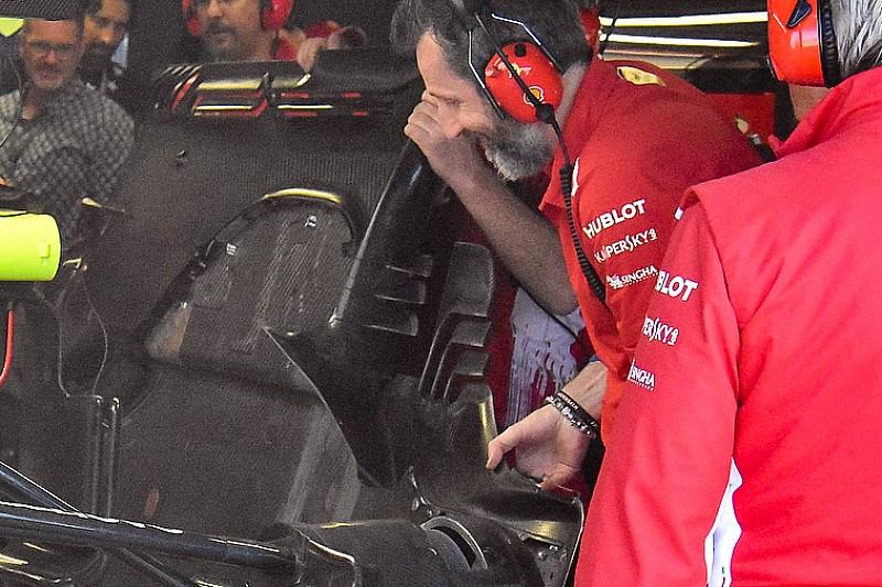 Kevesebb mint 35 perc alatt építették át Vettel Ferrariját
