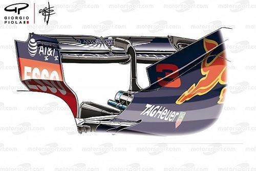 Formel-1-Technik: Die Baku-Heckflügel der drei Topteams