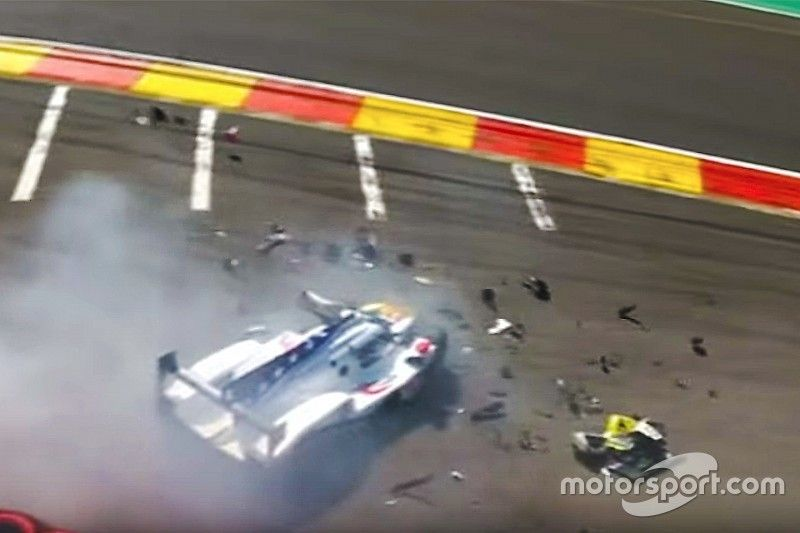 Fittipaldi suffers suspected leg fractures in Spa WEC crash