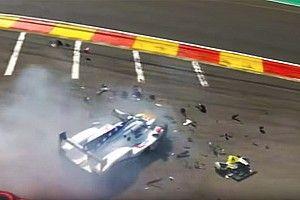 El equipo revela la causa del accidente que fracturó las piernas de Fittipaldi