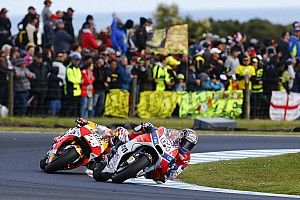 Dovizioso: Lack of speed, not error, to blame for poor finish