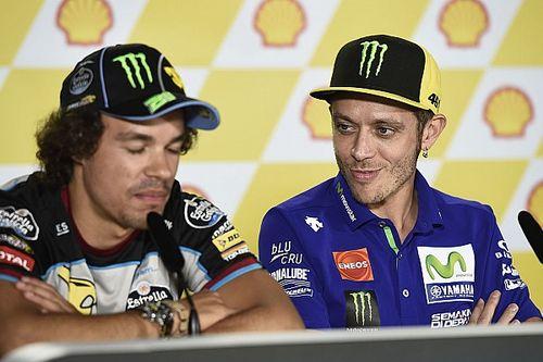 """Morbidelli: """"Hay un poco de tormenta con la irrupción del equipo de Valentino"""""""