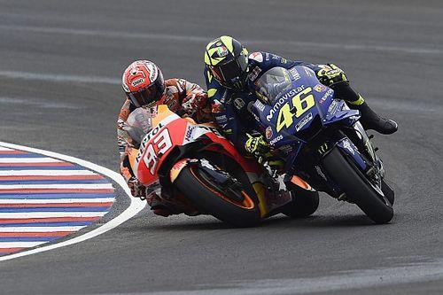 Rossi Klaim Marquez Lakukan Kesalahan Fatal