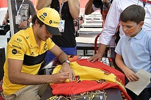 """Sainz: """"Me gustaría un gran premio de F1 en Madrid"""""""