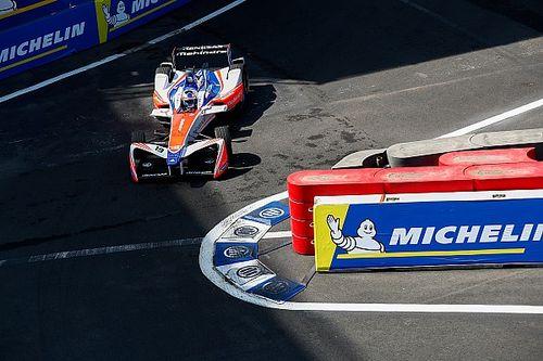 Rosenqvist se lleva la pole position en México