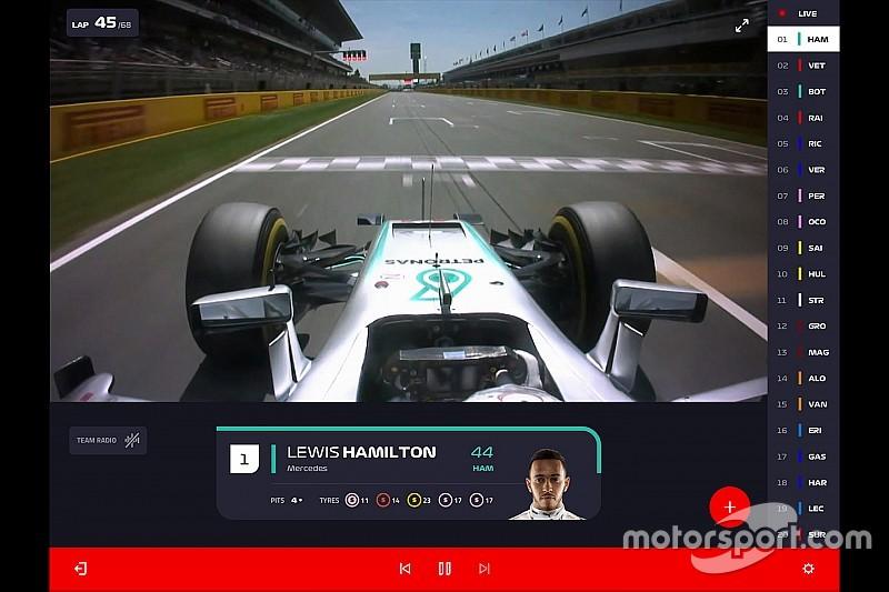 F1 TV se lanzará en el Gran Premio de España
