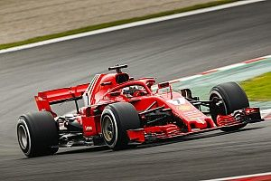 Raikkonen se queda con una primera impresión positiva del nuevo Ferrari