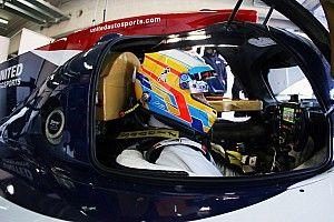 """Alonso no para y completa """"un gran test"""" de cara a Daytona en Aragón"""