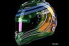 Massa revela pintura de capacete especial para adeus à F1