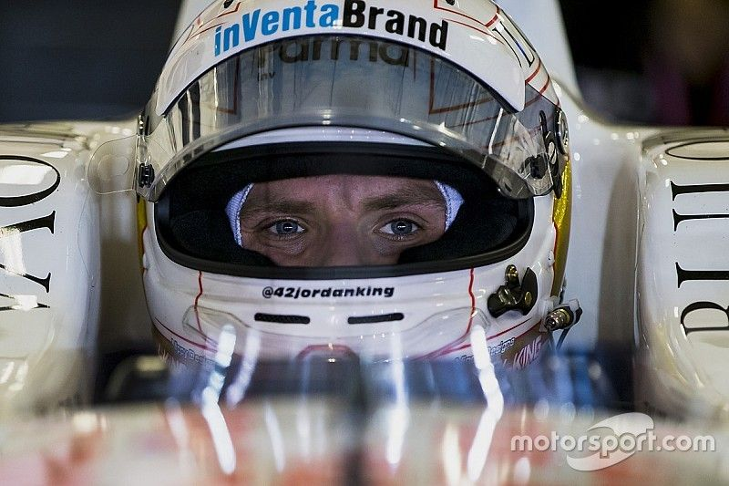 King aiming for full-time IndyCar ride in 2019