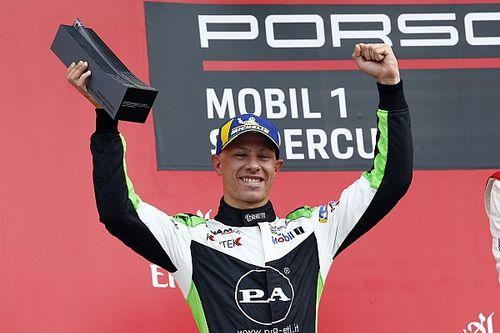 C'è anche Mattia Drudi tra i piloti scelti dall'Audi per i rookie test di DTM