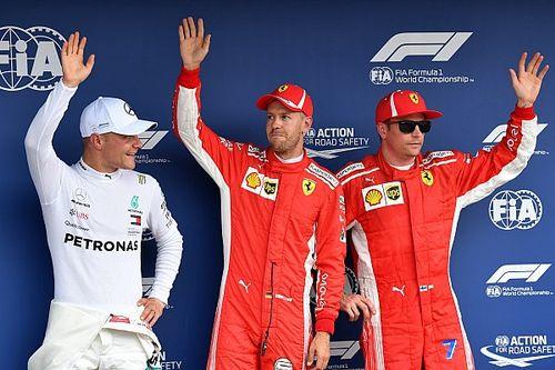 Vettel, Hamilton'la pole savaşı veremediği için üzülmüş