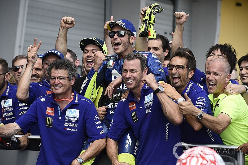 "Rossi: Acceleration demands making Yamaha staff ""run away"""