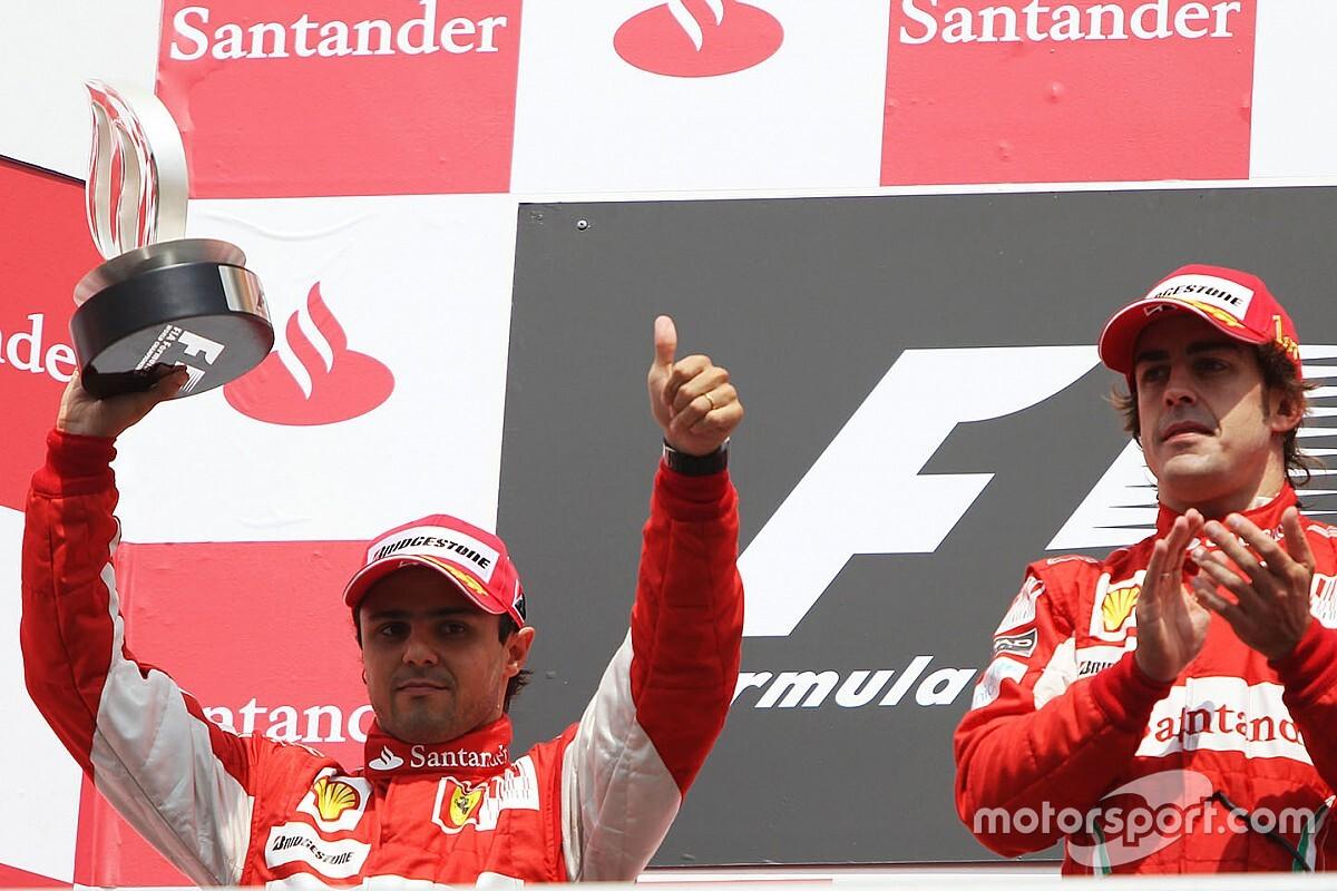"""Massa: """"Alonso il mio compagno più duro, non Schumacher!"""""""