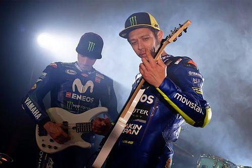 VIDEO: Saat Rossi-Vinales menjadi musisi