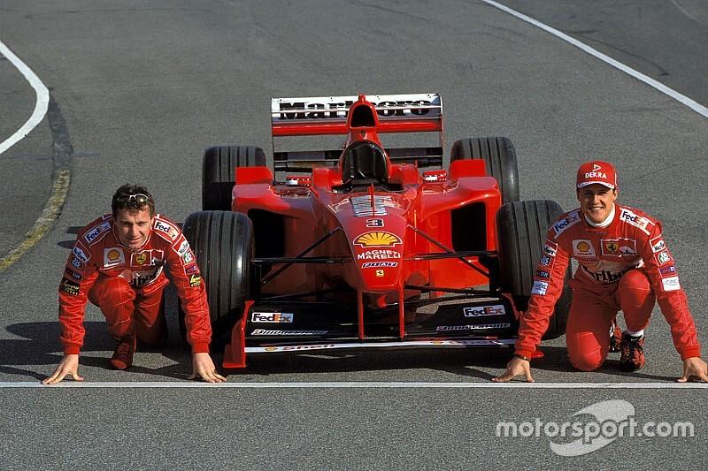 Irvine: intentaba entender cómo Schumacher podía ir tan rápido