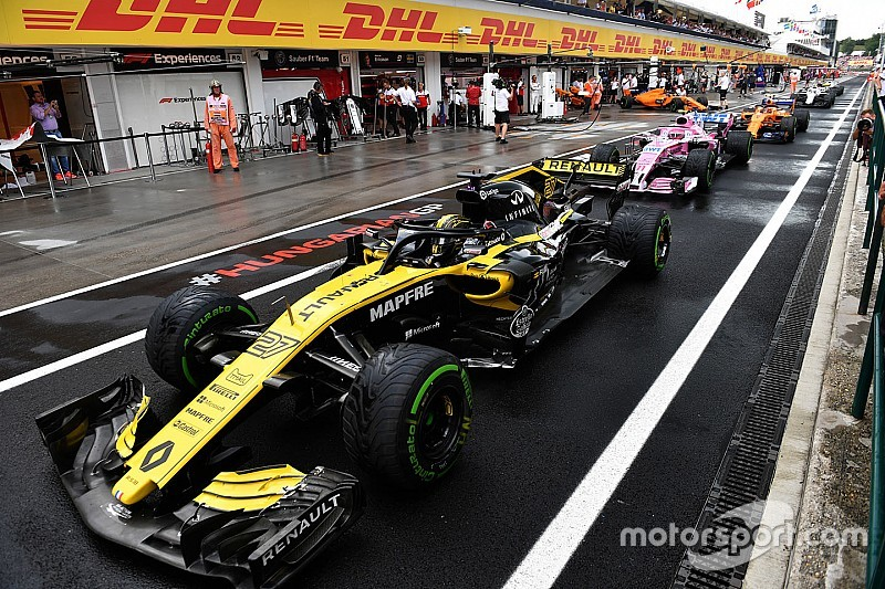 Гран При Венгрии: стартовая решетка в картинках