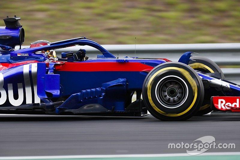 Gelael en EL1 avec Toro Rosso à Austin
