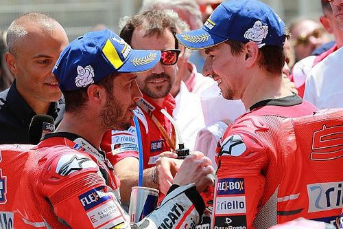 """Dovizioso: """"La gara di domani può cambiare le gerarchie in Ducati? Non credo proprio"""""""