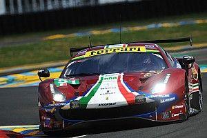 Ferrari coglie la seconda fila nella categoria GTE-Pro alla 24 Ore di Le Mans 2018